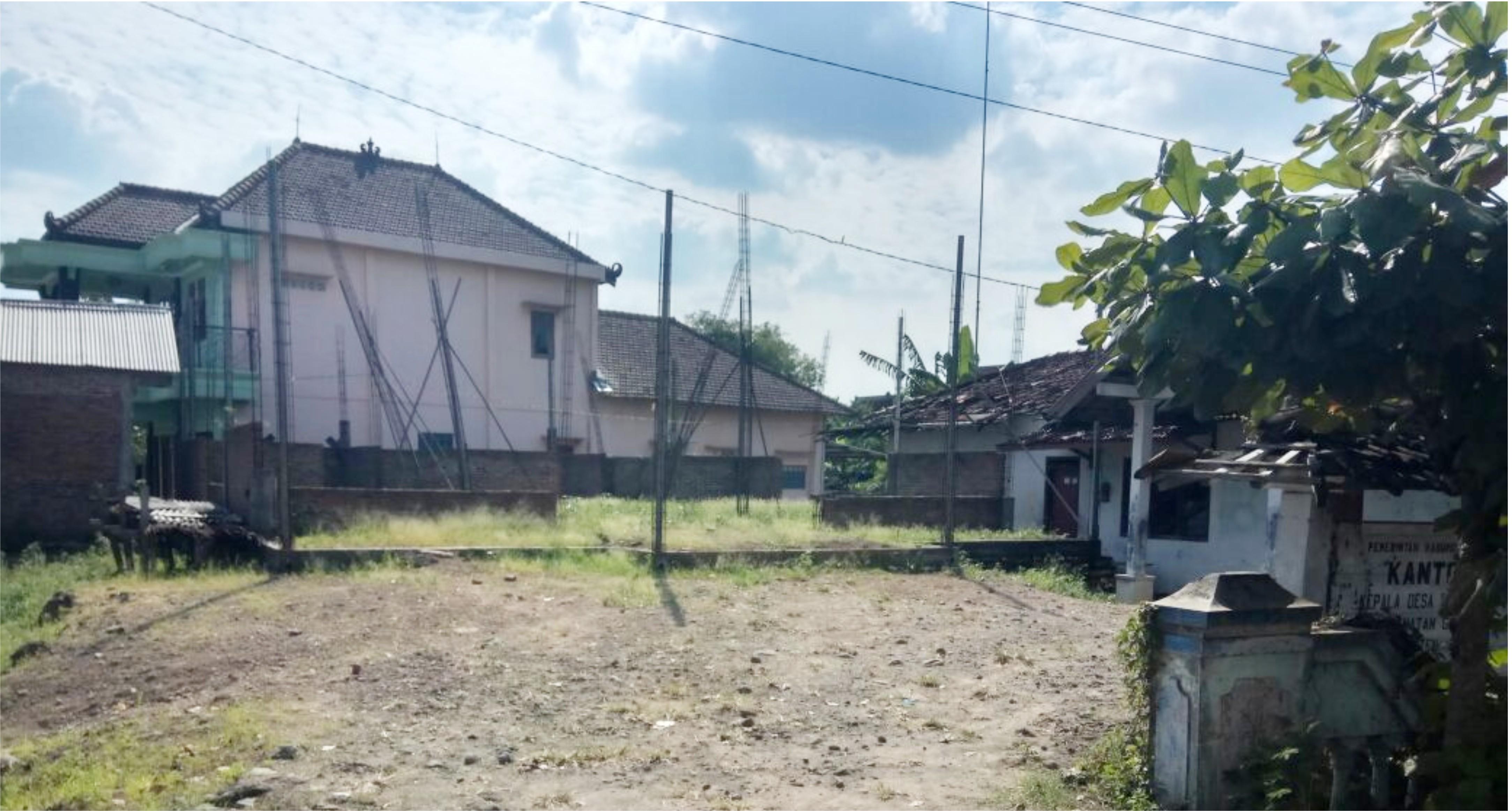 balai desa pantirejo mangkrak dua tahun